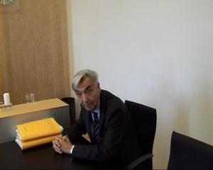 Kloster-Anwalt Bertram Grass wirkte phasenweise unrund